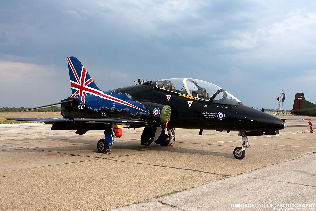 Hawk T1 RAF Batajnica 2009 © www.dimitrijeostojic.com