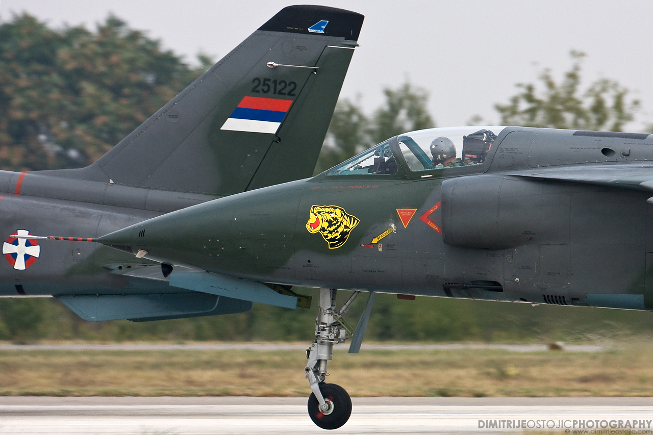 Orao J-22 241.lbae Tigrovi, Batajnica 2009 © www.dimitrijeostojic.com
