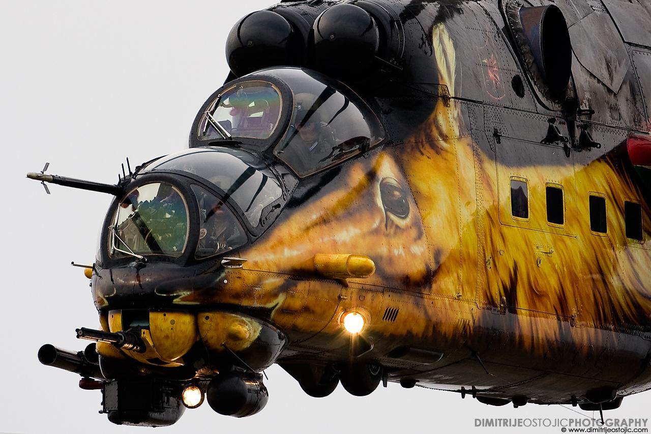 Mil Mi-24V Hind – Hungary AF , Batajnica 2009 © www.dimitrijeostojic.com
