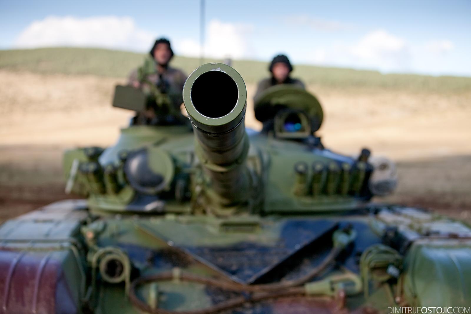 Serbian Army, M-84 , Žandarmerija ,military exercise Odlucan Odgovor 2009, Serbia, Pesterska visoravan, Oktobar 2009 © www.dimitrijeostojic.com