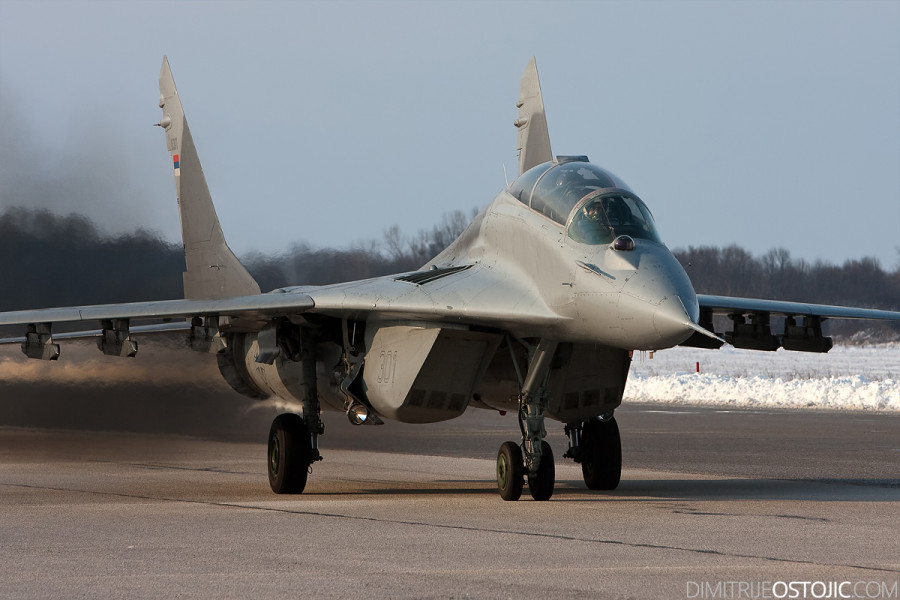"""101st Fighter Squadron """" Vitezovi """" - Serbian Air Force"""