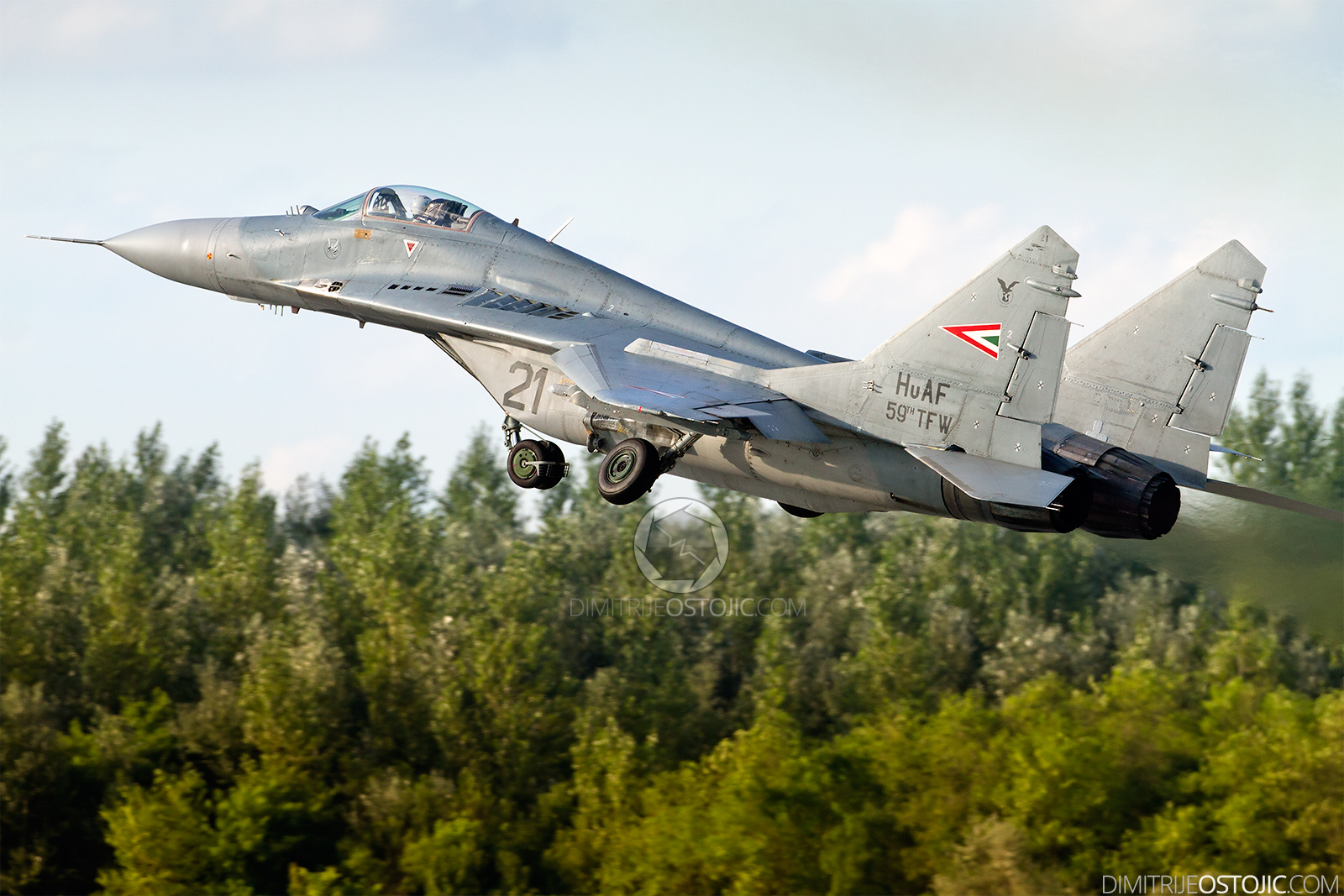 MiG-29 no21 Fulcrum Hungary Air Force - photo: Dimitrije Ostojic / www.dimitrijeostojic.com