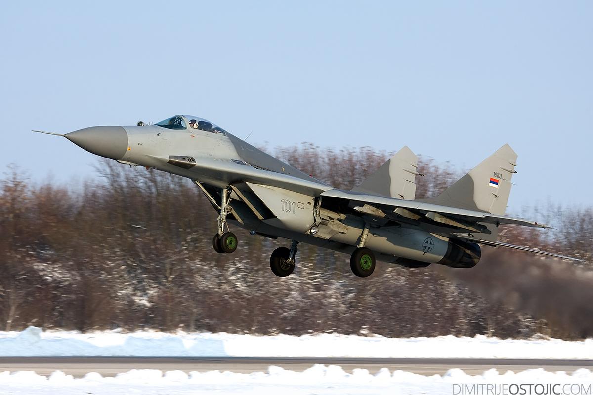 MiG-29 Fulcrum 18101 - photo: Dimitrije Ostojic / www.dimitrijeostojic.com