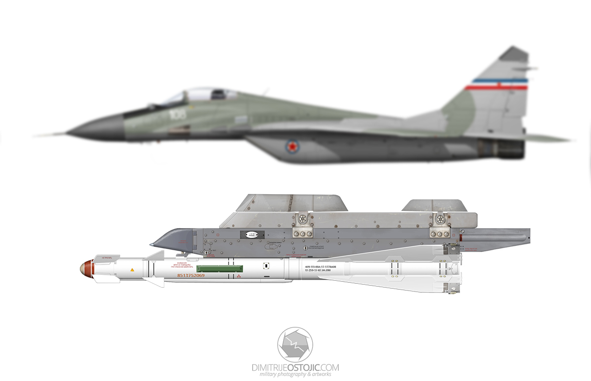 R-60MK on APU-60 by Dimitrije Ostojic / www.dimitrijeostojic.com