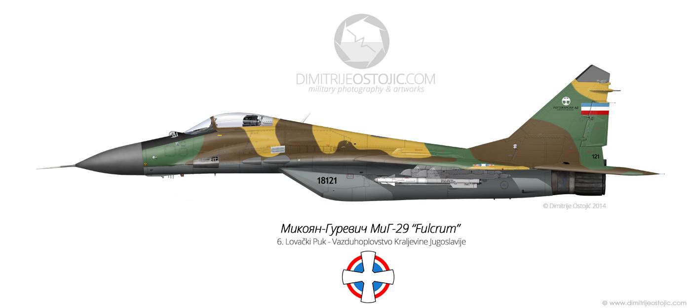 MiG-29 by Dimitrije Ostojic / www.dimitrijeostojic.com