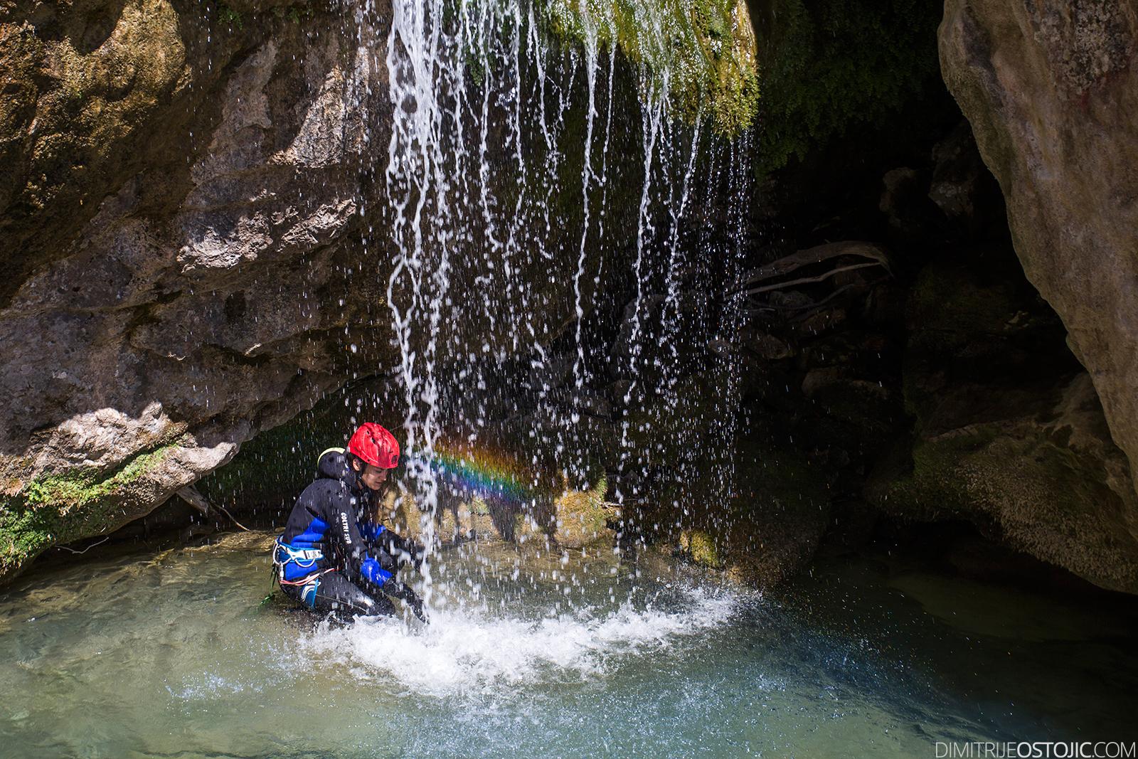 Medjurecki Potok canyon, Montenegro 2016. © www.dimitrijeostojic.com